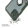 Green iPhone Stylishly Tough Shockproof Case With Ring