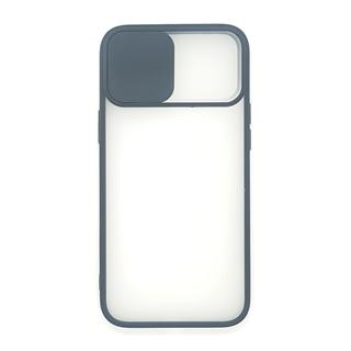 Slide Camera Lens Protection Shockproof TPU Phone Case for iPhone Color Matte Transparent
