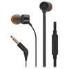 JBL Tune 110 in-Ear Headphones with Mic (Black)