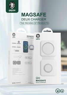GREEN MAGSAFE DEUX WIRELESS CHARGER – GN2XWLCHWH