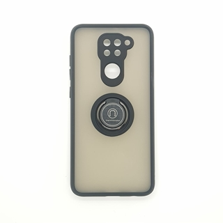 Redmi Note 9 Shockproof Back Cover Black