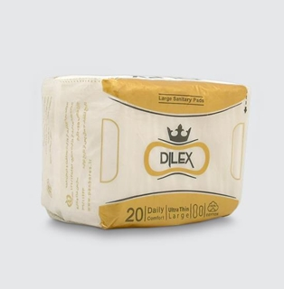 Dilex Daily Sanitary Pad Large Size 20 Pcs