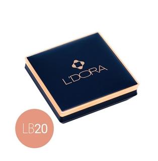 L'DORA COMPACT BLUSHER, NO. LB20, 18 Gr