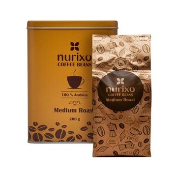 Nurixo Arabica Medium Roosted Coffee Beans 200 g