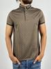 Men Polo Shirt Thin cloth Cool Summer Slim Brown Color