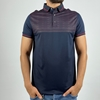 Men Slim Polo Shirt with Thin Cloth for Summer ( Blue, White and Black Brown and Black Annabi Colors)