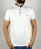 Men Slim Polo Shirt with Thin Cloth for Summer ( Blue, White , Yellow and Olive Green Colors)
