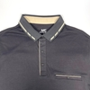 Men Slim Polo Shirt with Thin Cloth for Summer ( Annabi and Black Colors)