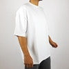 Long T-shirt with Tight Round Neck in Black and White Colors