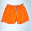Men Bright Orange Swimming Short