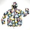 Raincoat Hoodie with Clock Design