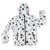 Raincoat Hoodie with Musical Design