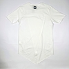 Short Sleeves Hip Hop Long T-Shirt with Ribbon for Men in Black and White Colors