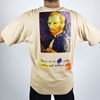 Men Oversize Vincent Van Gogh T-shirt Available in Black and Brown Color