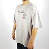 Men Oversize Mona Lisa T-shirt in Gray Color