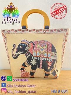 Elephant Handmade Handbag