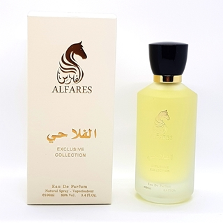 Al-falahi Perfume from Al-fares Exclusive Collection 100ml  80% vol. Cream color