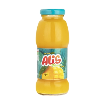 Alis Mango Juice 195 ml (Pack of 12)
