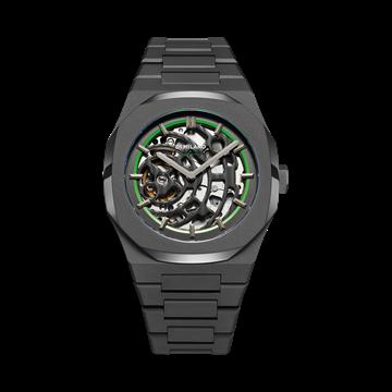 sandblast-green-d1-milano-watch