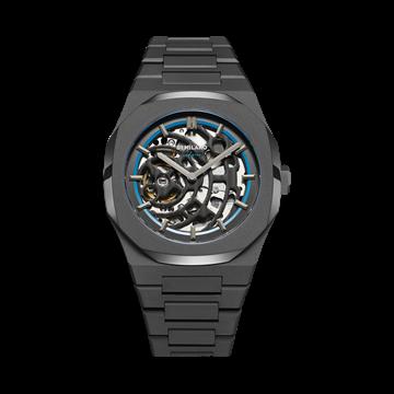 Sandblast Blue D1 Milano Watch