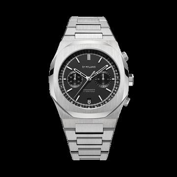 Chronograph New Black D1 Milano Watch
