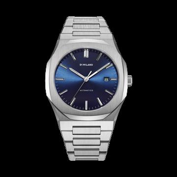 Blue Automatic Bracelet 41.5 mm D1 Milano Watch